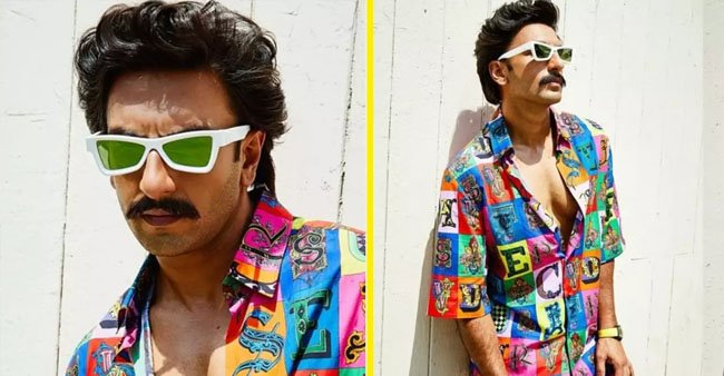 Ranveer Singh is in the highlights yet again for his fashion and for a striking resemblance with Govinda in the new pic