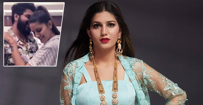 Haryanvi fame Sapna Chaudhary dances with a mystery man and the videos went viral