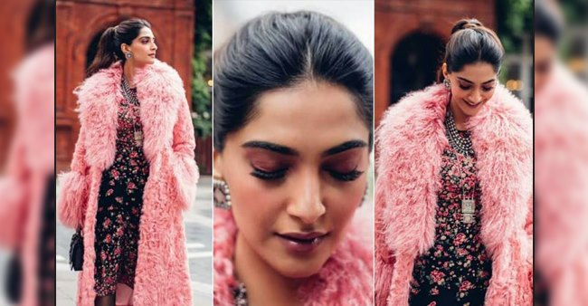 Sonam Kapoor shares beautiful pictures from London collaborating with designer Michael Kors