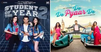 Box-Office Collection: Student of the year 2 and De De Pyaar De