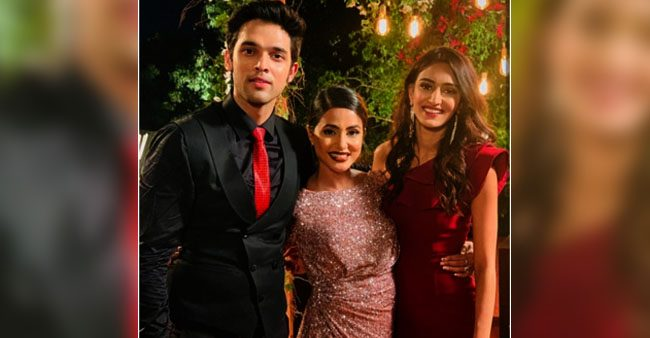 Hina Khan's 'Wooowww' Comment upon Watching Parth Samthaan and Erica Fernandes' Romantic Video