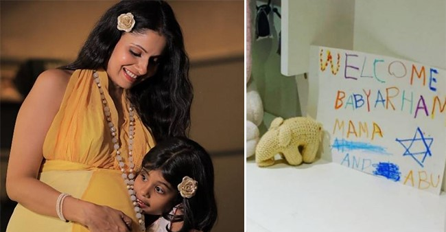 TV Actress Chhavi Mittal's Hubby Mohit Records the Lovely Moments with Daughter Areeza and Little Arham