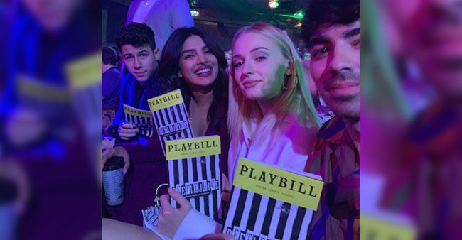 Priyanka Chopra and Nick Jonas enjoys double date with Joe Jonas and Sophie Turner