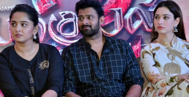 The adorable video of Prabhas and Anushka Shetty went viral on the internet