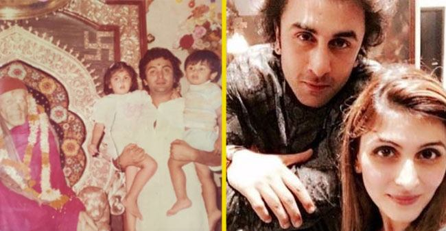 Throwback Pictures: Ranbir Kapoor's Sister Riddhima Kapoor Shares an Adorable Photo with Rishi Kapoor