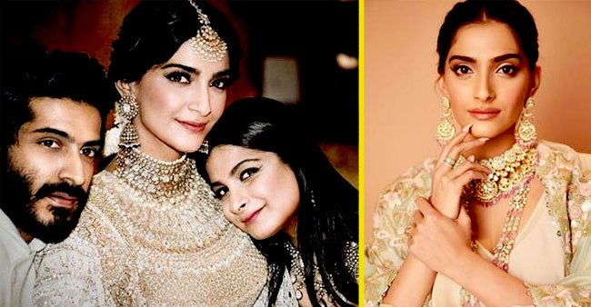 Sonam Kapoor Ahuja Looks Majestic at Cousin Priya Singh's Wedding in London