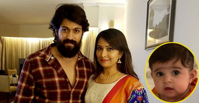 KGF Actor Yash's Baby Girl Turns Six-months Old, Her Mother Shares A Cute Video