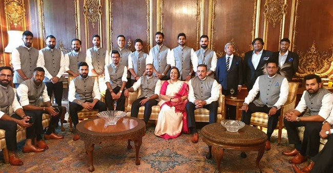 Indian Cricket Team visit High Commissioner's Residence in London, Ahead of Their Second WC Match – Pictures Inside