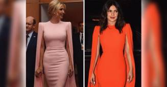 Priyanka stunning Look in expensive and curve hugging Alex Perry Dress