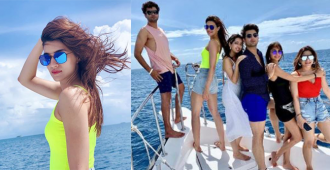 Kriti Sanon Looks Fresh As a Sunrise On Her Maldives Getaway With Her Friends – Pictures Inside