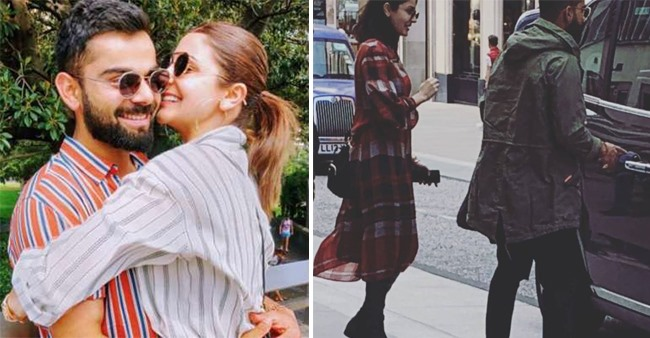 Anushka Sharma and Virat Kohli Spending Time Together London, Ahead of India's next match with Afghanistan, see pics