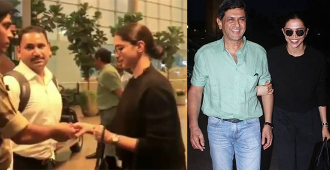 Watch: A security Guard Asked Deepika Padukone to Show her ID at the Airport, her reaction is breaking the internet