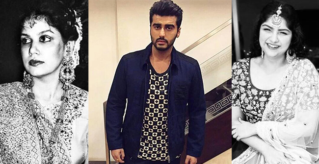 Like Mother Like Daughter: Arjun Kapoor Shares Adorable Throwback Picture of his mom Shourie Kapoor and sis Anshula