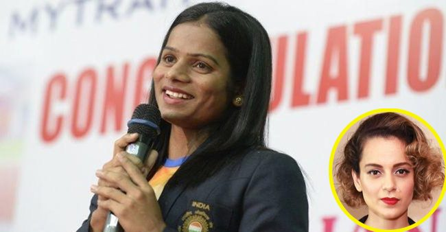 Athlete Dutte Chand feels Kangana Ranaut Would be 'Perfect' to Play Her Role in Her Biopic; Actress Responds