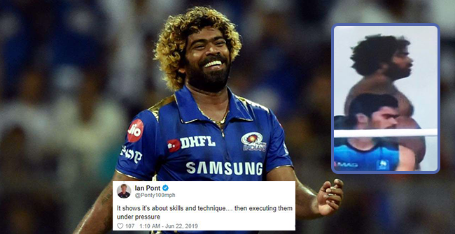 Fans Make Fun of Sri Lanka's Lasith Malinga, call him 'fat' as his picture during CWC 2019 match against England goes viral