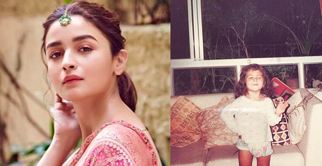 Alia Bhatt's Childhood Picture From Throwback Thursday Is Way Too Adorable For Netizens