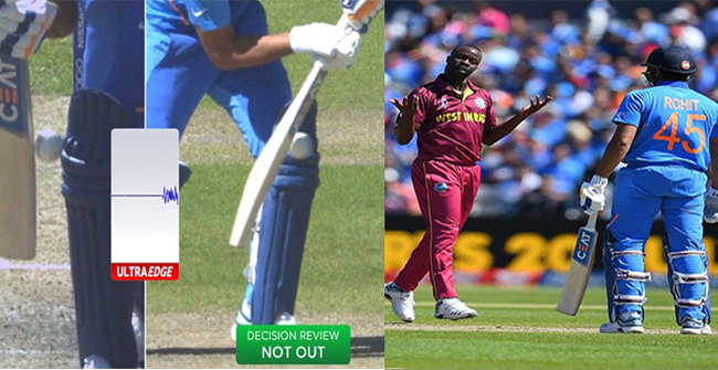 CWC 2019: Former World Cup Winning Players React to Rohit Sharma's Contentious Dismissal Against West Indies