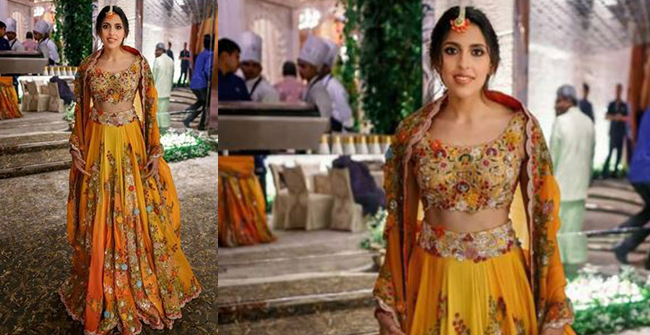 Shloka Mehta's Haldi Outfit Designed By Anamika Khanna is a Stuff of Dreams For Every Bride Out There, see pics