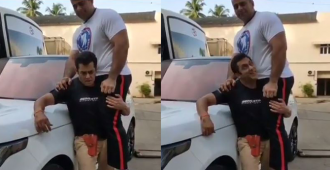 Watch: Salman Khan Lifts His 122kg Nephew Effortlessly in Latest Fitness Video Sending Fans into Frenzy