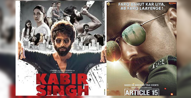 BO Collections: Kabir Singh Becomes Highest Grossing Film of 2019, Article 15 Crosses 50 Cr Mark
