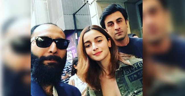 After spending time with family, Ranbir Kapoor and Alia Bhatt spotted in New York, posing with a fan