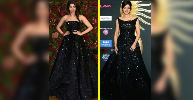 'Like Mother Like Daughter': Khushi Kapoor's Fashion Choices Make Her Resemble Her Mother Sridevi