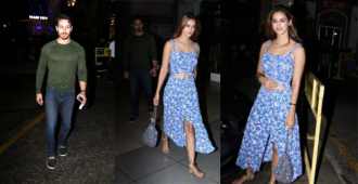 Watch: Despite Reports of Break Up, Tiger Shroff and Disha Patani Spotted Hanging Out Together
