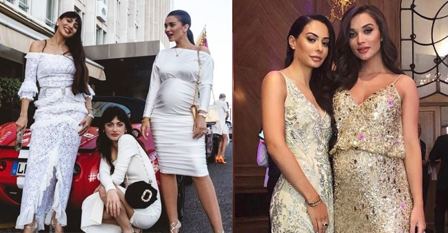 Amy Jackson flaunts baby bump in a gorgeous dress and looks absolutely adorable