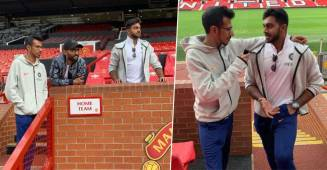 Indian Team enjoys their time in Manchester prior their match with Pakistan