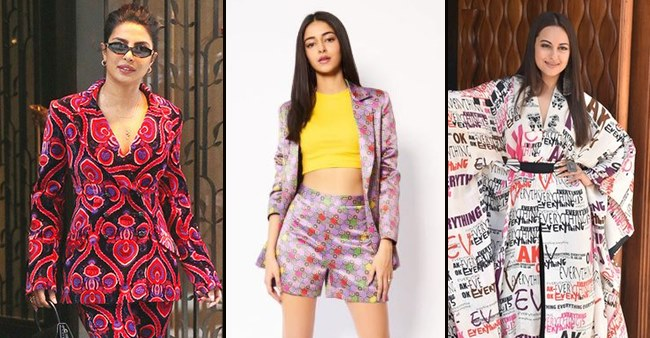 Fashion trends are changing rapidly from floral patterns to abstract and transcripts