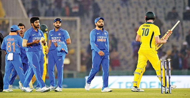 Indian Cricket Team is all set to face the Australian Cricket team on Sunday