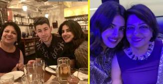 Priyanka Chopra and Nick Jonas celebrates the birthday of Mother in the most beautiful way