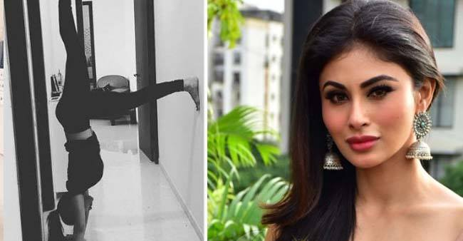 Mouni Roy Gives us Major Fitness Goals; Practices Yoga Ahead of International Yoga Day