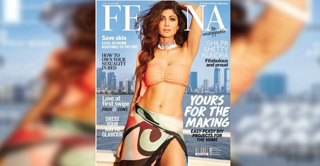 Shilpa Shetty rules the hearts of many with her amazing picture on the cover of Femina India