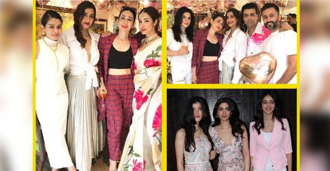 Sonam Kapoor throws a Massive birthday party as she completes another successful year in life