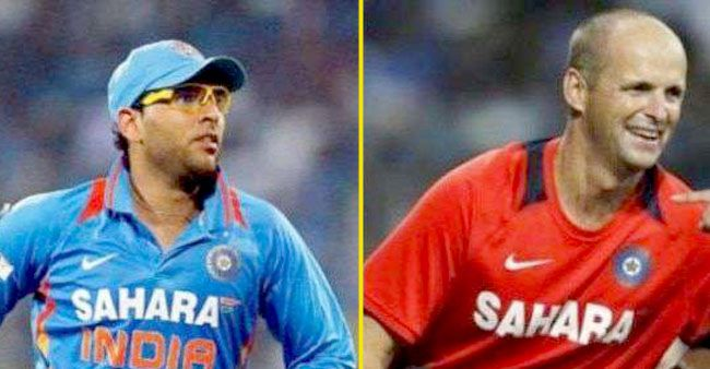 Yuvraj Singh had special mentions for Sourav Ganguly and Gary Kirsten in his Goodbye speech