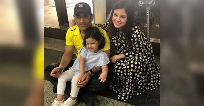 Ziva Singh Dhoni is the best cheerleader present in every match and we could not agree more
