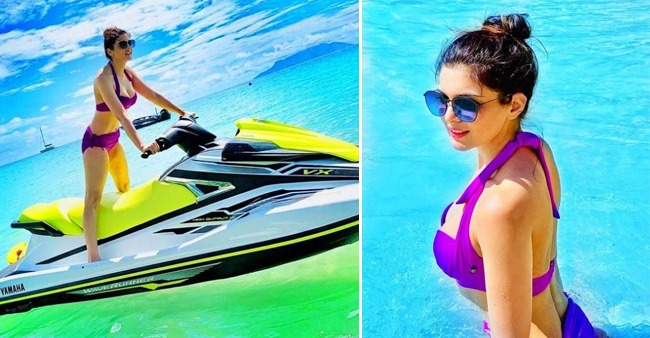Ihana Dhillon Enjoys Her Vacation in Mahi Island Seychelles Flaunting Her Bikini Look
