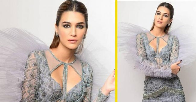 Kriti Sanon Stuns In Shane Peacock Design At GQ Best Dressed Party