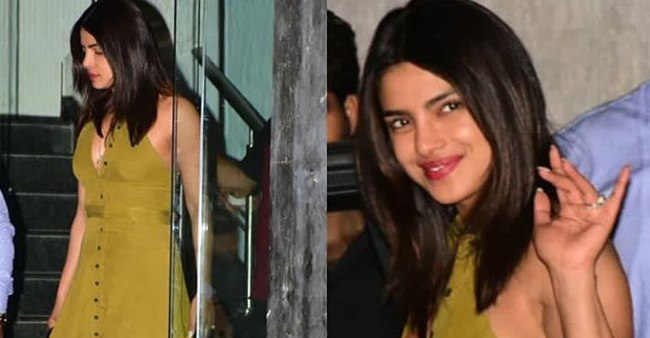 Priyanka Chopra Looks Super Chic At Her Recent Outing In Mumbai