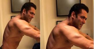 Salman Khan Shares Yet Another Shirtless Picture; Fans Can't take eyes off his bare torso