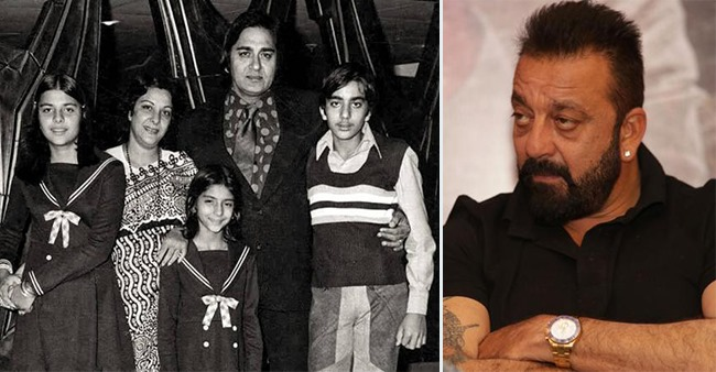 Sanjay Dutt Remembers His Father On His Birthday, Shares A Throwback Photo