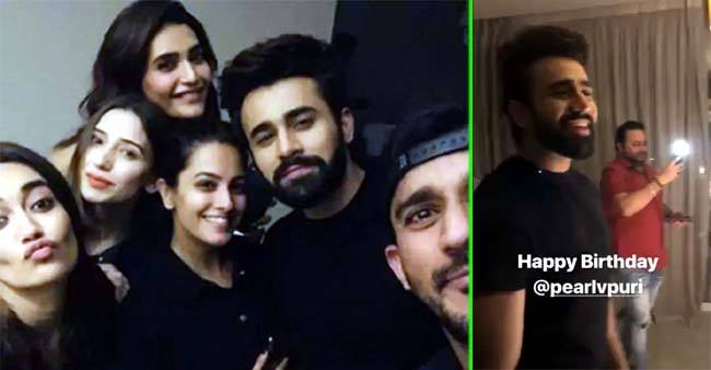 Naagin 3 Actor Pearl V Puri celebrates his birthday with co-stars Surbhi Jyoti, Anita Hassanandani and others