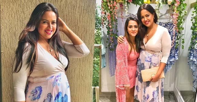 Sameera Reddy Surprises Fans By Wearing Shapewear Spanx in Latest Outing, see pics