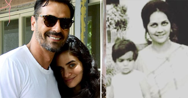Arjun Rampal shares picture of his newborn baby and asks fans if his son looks like him