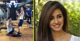 Disha Patani Latest Workout Video is Setting the Internet Ablaze; Watch Her Latest Gym Session Inside
