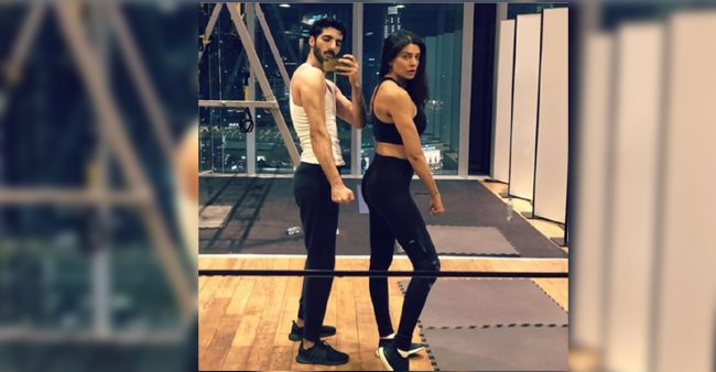 Sushmita Sen Silences Rumours of Her Breakup with Rohman Shawl By Posting an Adorable Picture With Her Boyfriend at the Gym