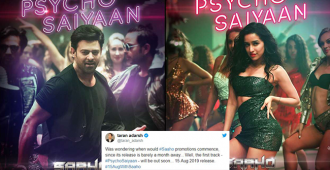 """Shraddha Kapoor Looks Her Glamorous Best in Prabhas Starrer 'Saaho's' First Song Named """"Psycho Saiyaan"""""""