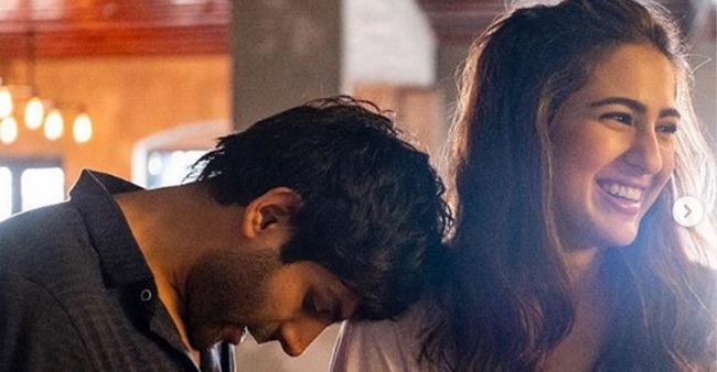 Kartik Aaryan Showers Love on His 'Princess' Sara Ali Khan; Says Couldn't Have Asked For a Better Saathi in This Journey
