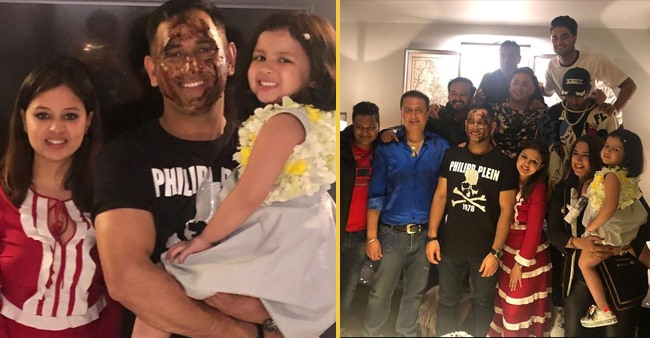Pictures From MS Dhoni's Birthday Celebrations Are Out, and They're a Treat to The Eyes For Us Fans
